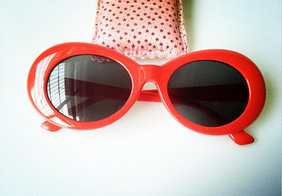 Women's Sunglasses - Oval Retro 1950's