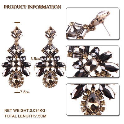 Women's Earrings - Vintage Style Rhinestone