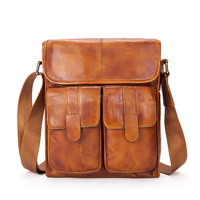 Stylish Leather Messenger Bags for Men