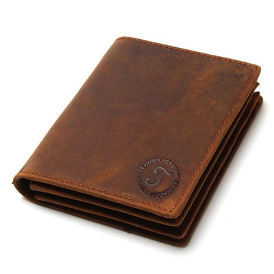 Soft Handmade Leather Bifold Wallet