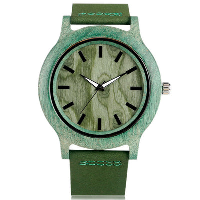 Casual Fashion Eco-friendly Bamboo Watch for Men - nice watches for men
