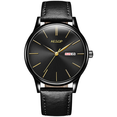 Minimalist Luxury Dress & Fashion Watch - nice watches for men