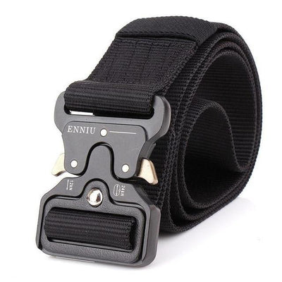 Tactical Woven Canvas Belts For Men