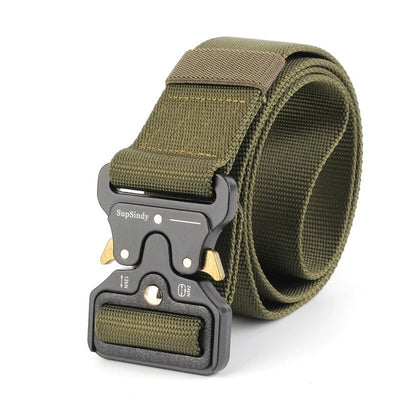 Men's Military Style Army Tactical Belt