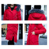 Women's Winter Coat with Fur Collar