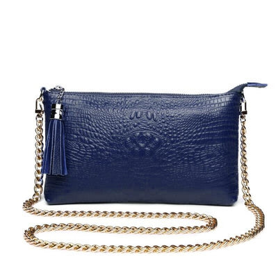 Women's Leather Clutch Handbag