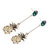 Women's Earrings - Pineapple Rhinestone Pendant
