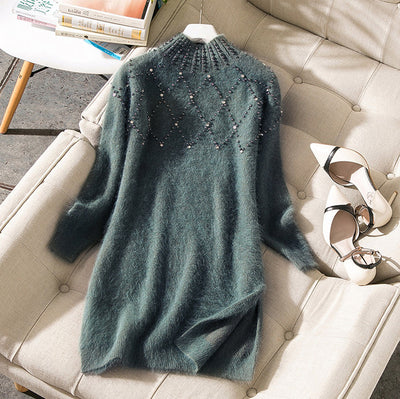 Elegant Designer-Style, Winter Fashion Dress For Women