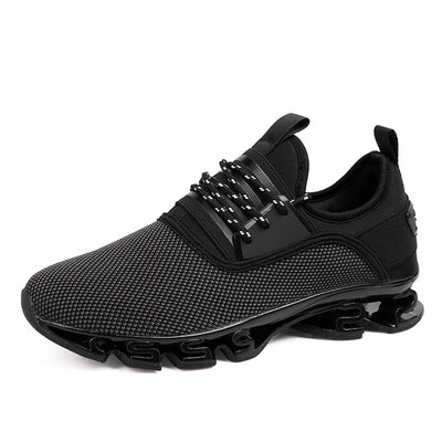 Breathable Air Mesh Lace-up Casual Sneakers For Men