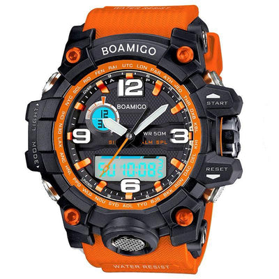 Analogue and Digital Dual Display Adventure Sports Chronograph Watch