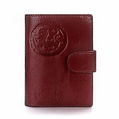 High Capacity Genuine Leather Wallet and Passport Holder