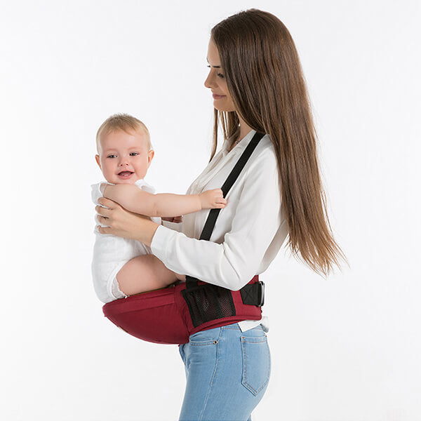5b18dca4ccd ... Ergonomic Baby Hip Seat Belt Carrier for infant and moms ...