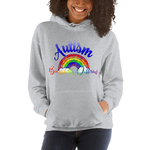 Autism Beautifully Different Hooded Sweatshirt