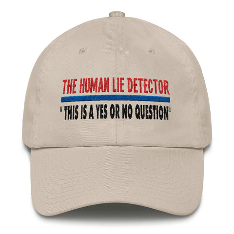 Human Lie Detector Cotton Cap