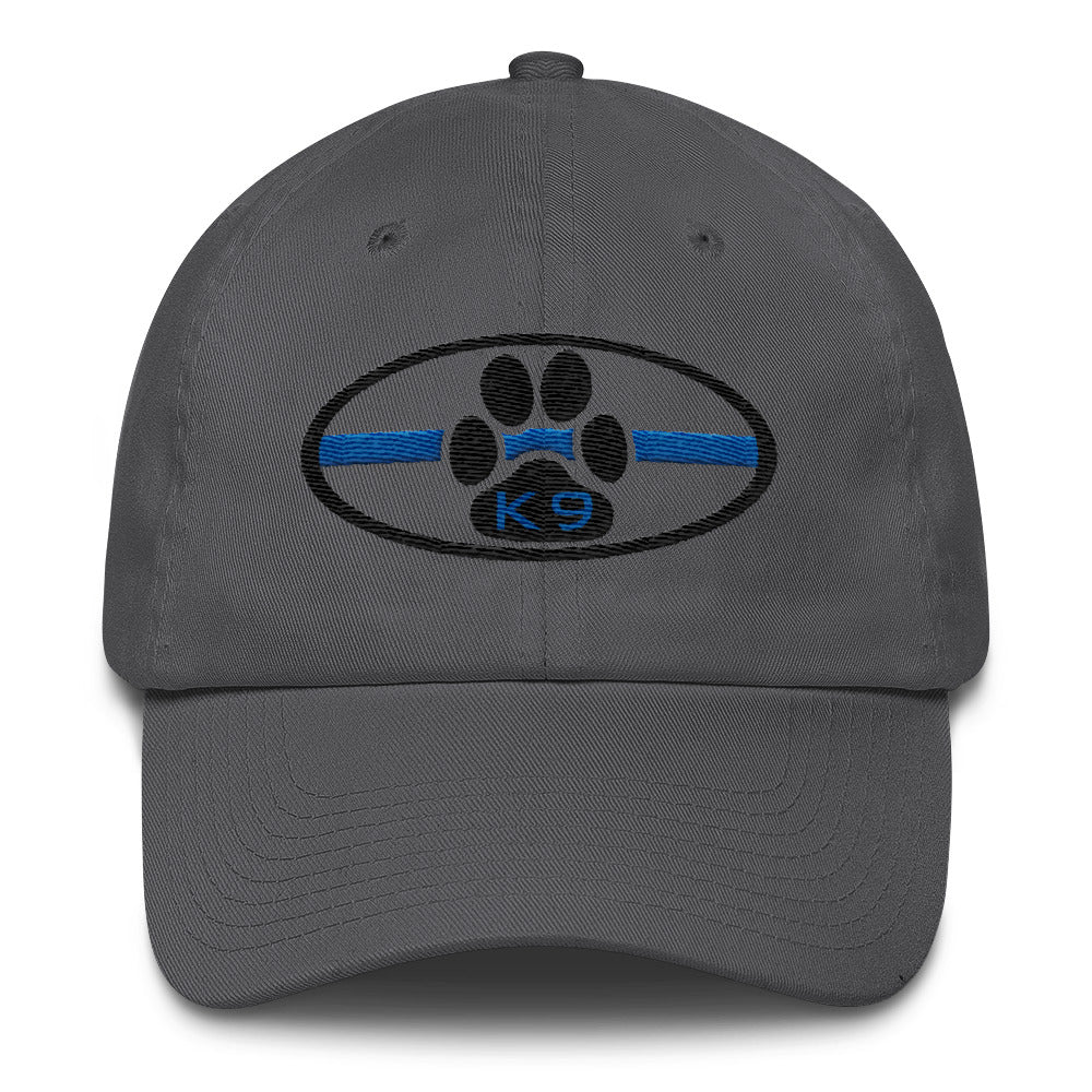 K9 Thin Blue Line Cotton Cap