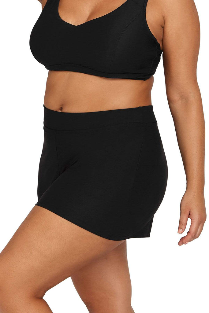 Black Hues Swim Short