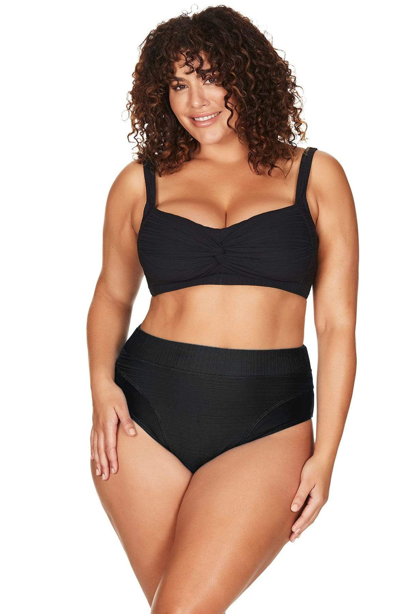 Artesands Seperates Bottom Aria Giotto High Waist Swim Pant Plus Size Curvy