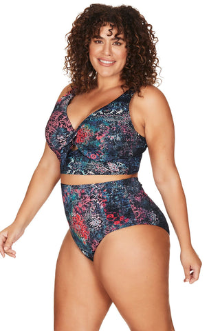 Artesands Seperates Tops House of Medici Cezanne Middrift Bikini Top Plus Size Curvy