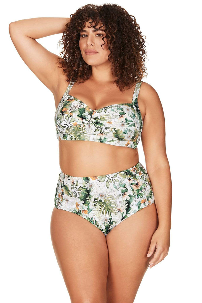 Viva La Eden Botticelli High Waist Swim Pant