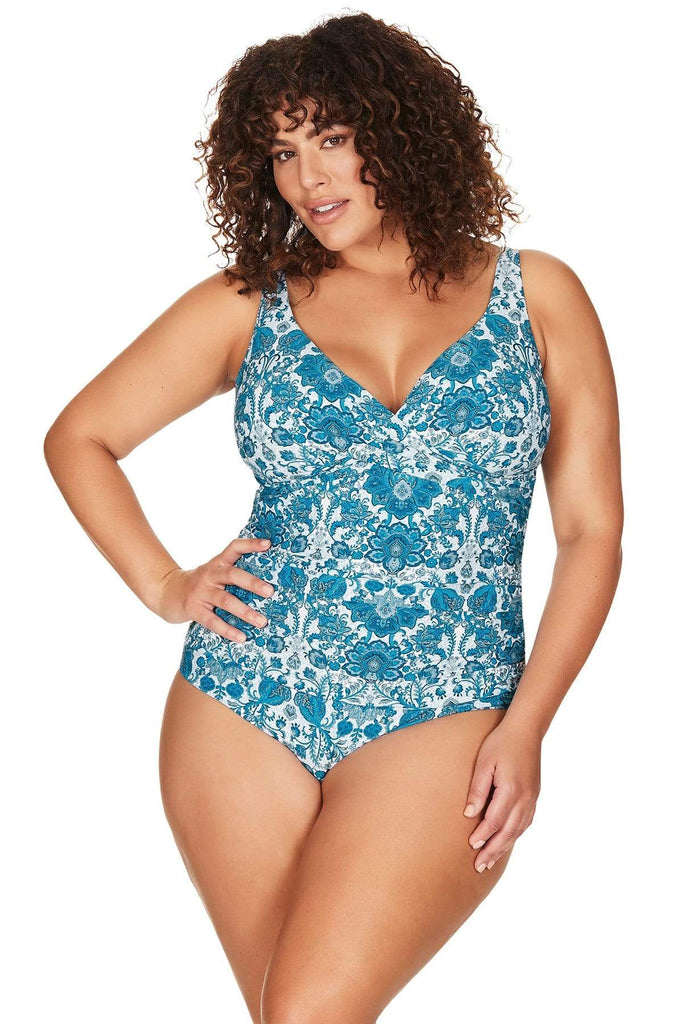 Artesands One Piece Arabesque Delacroix One Piece Plus Size Curvy