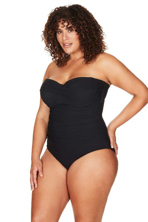 Artesands One Piece Aria Botticelli Bandeau One Piece Plus Size Curvy