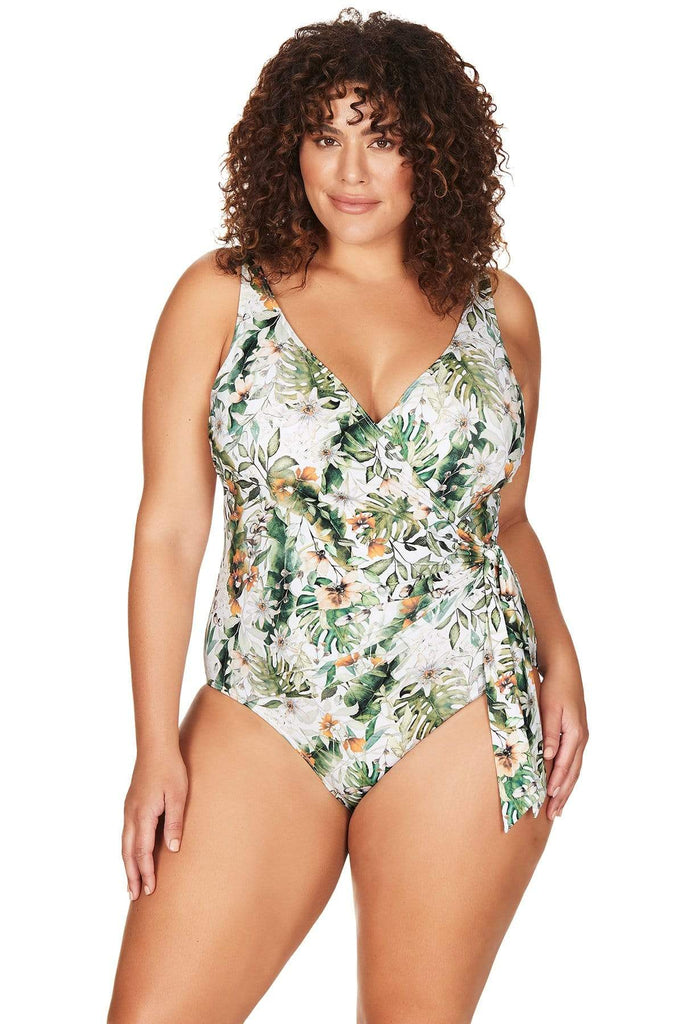 Viva La Eden One Piece Viva La Eden Hayes Underwire One Piece Plus Size Curvy