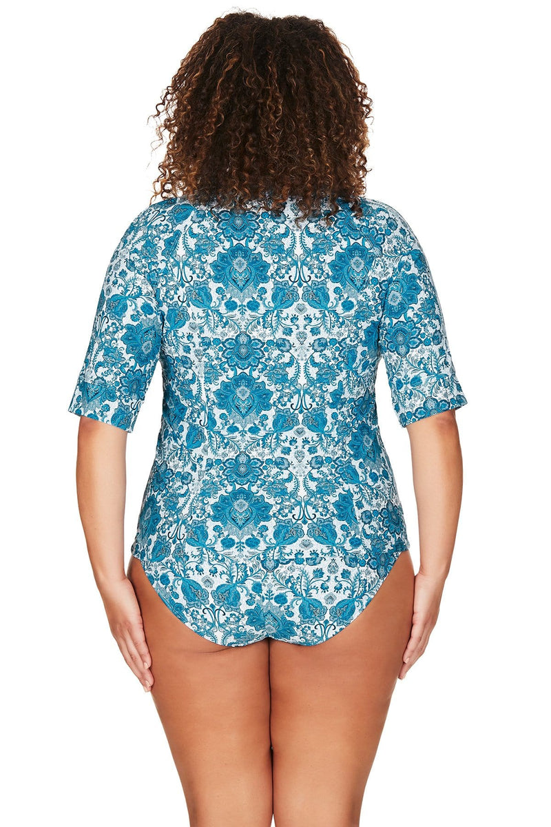 Artesands Sun Safe Top Arabesque Sunsafe Top Plus Size Curvy