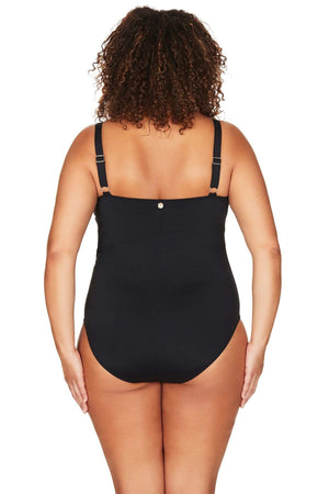Artesands Seperates Tops Black Hues Hayes One Piece Plus Size Curvy