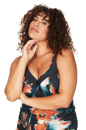 Artesands Seperates Tops Ju Jardin Giotto Tankini Top Plus Size Curvy