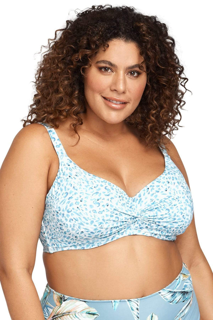 Artesands Seperates Tops Plein Air Monet Soft Cup Underwire Bikini Top Plus Size Curvy