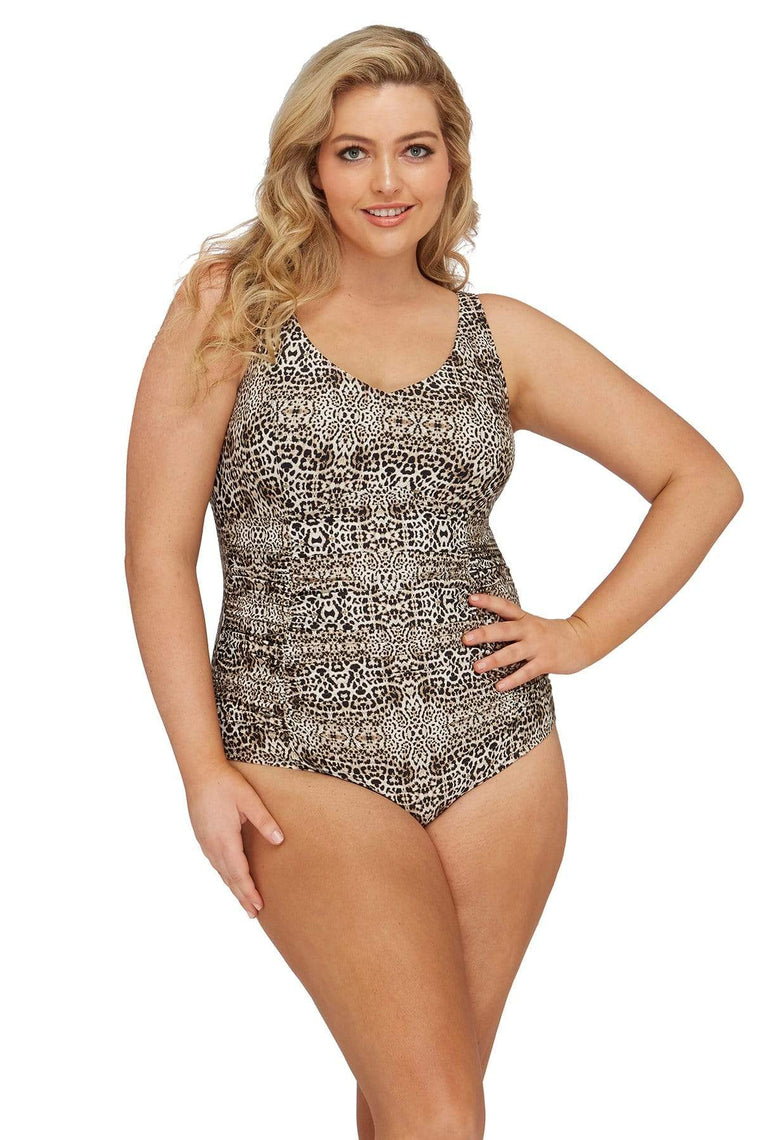 Leopard Raphael E/F Underwire One Piece
