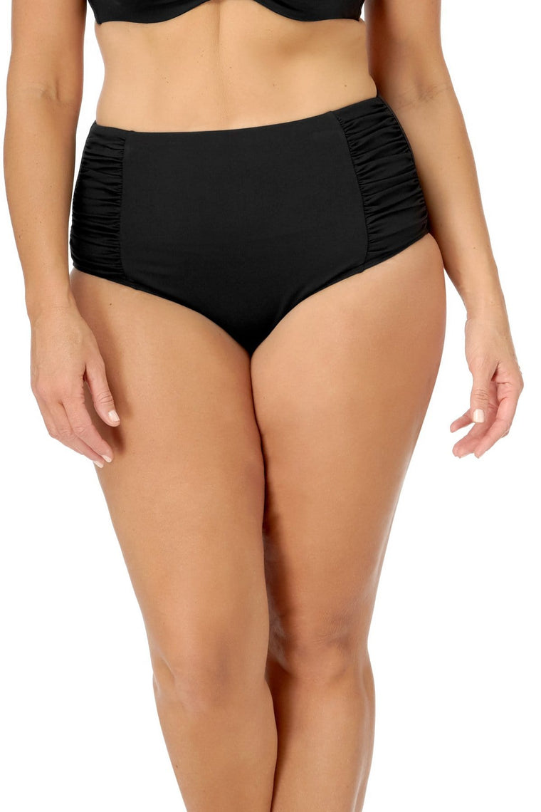 Black High Waist Brief