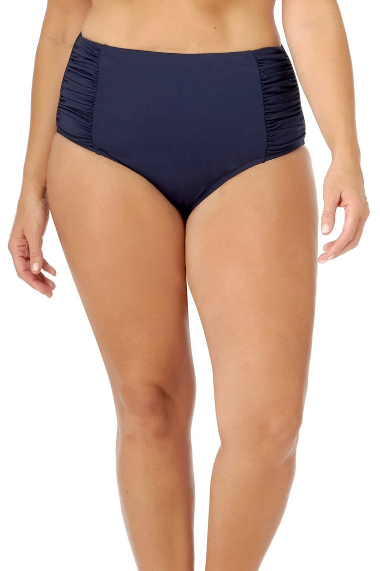 Navy High Waist Brief