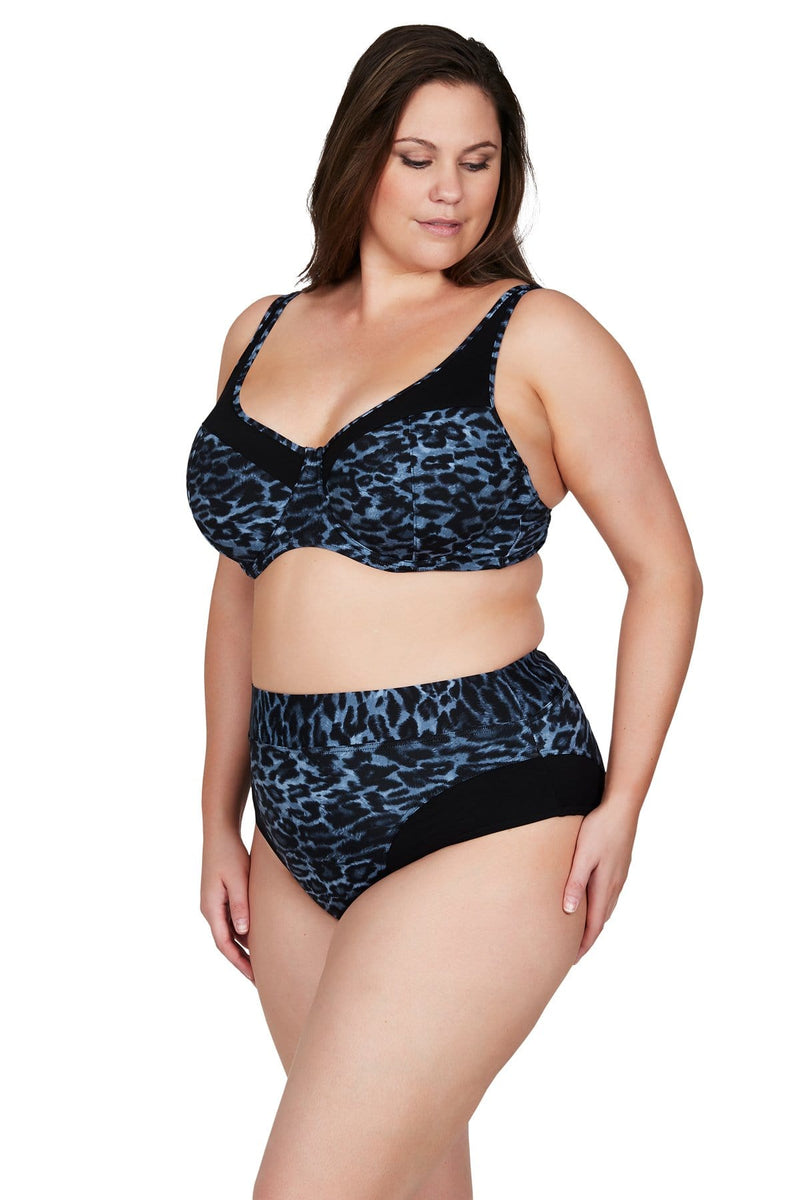 Artesands Top Le Blu Animale Giotto Bikini Top Plus Size Curvy