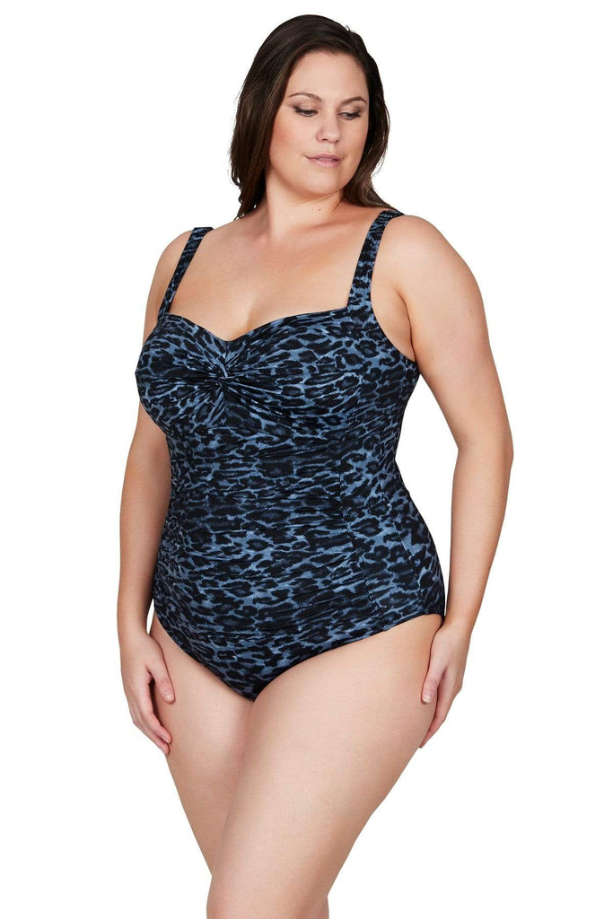 Artesands One Piece Le Blu Animale Botticelli One Piece Plus Size Curvy