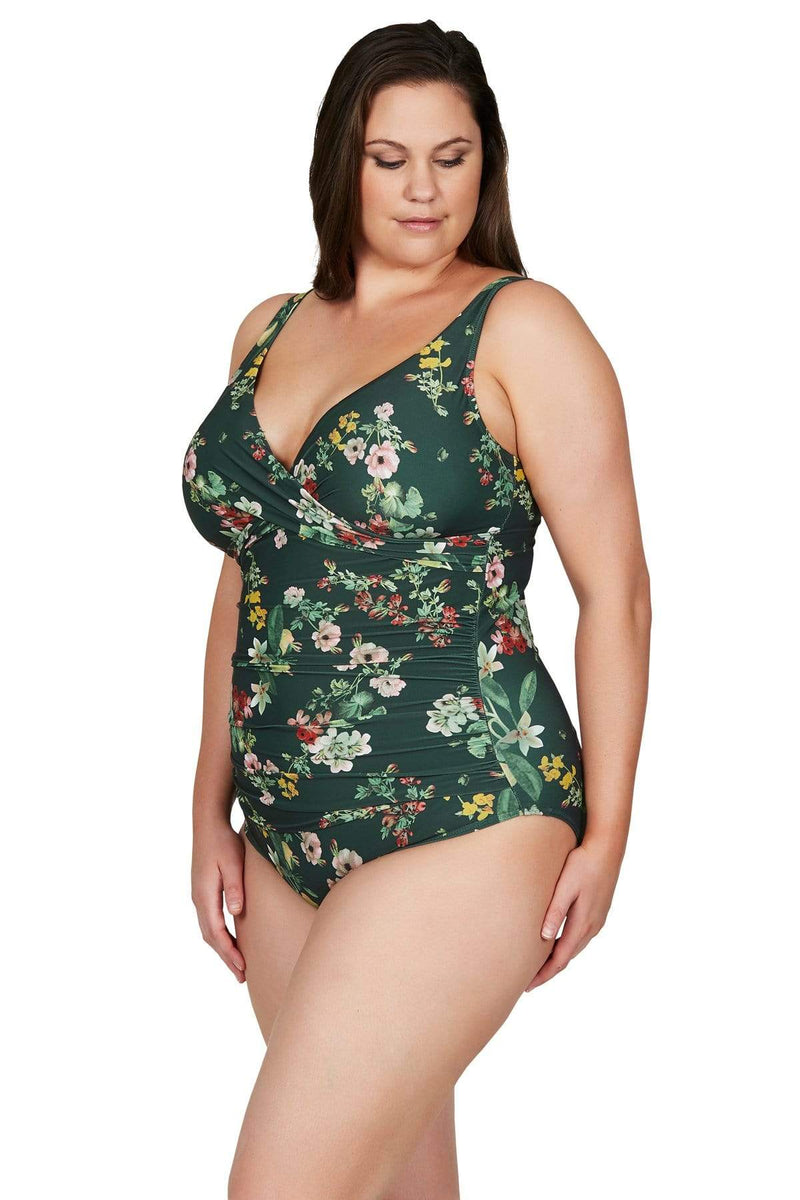 Artesands One Piece Green Neo Kimono Delacroix One Piece Plus Size Curvy