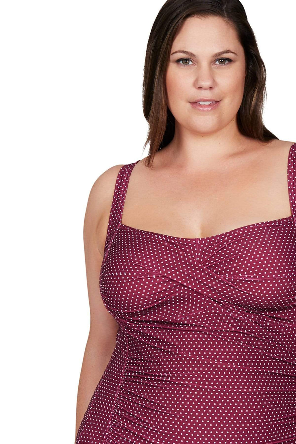 Artesands One Piece Syrah Polka Rococo Botticelli One Piece Plus Size Curvy