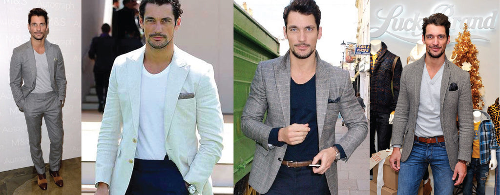 david gandy_pocket square