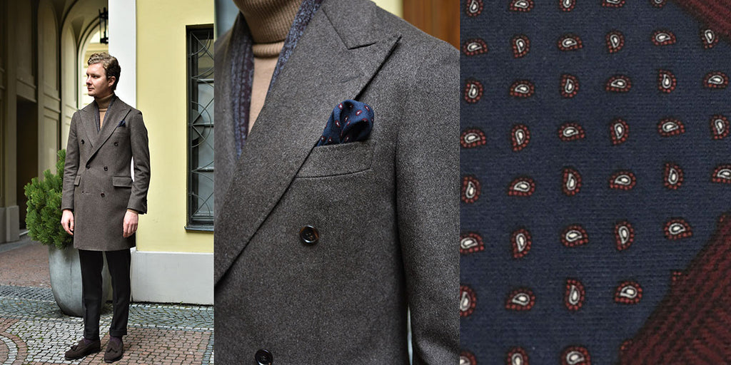 Vlad_turtleneck_navy paisley wool pocket square