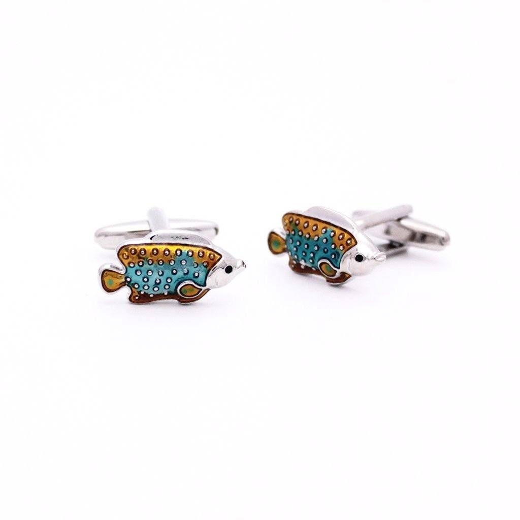 Aquatic Tropical Fish Cufflinks - Red Stag and Hind