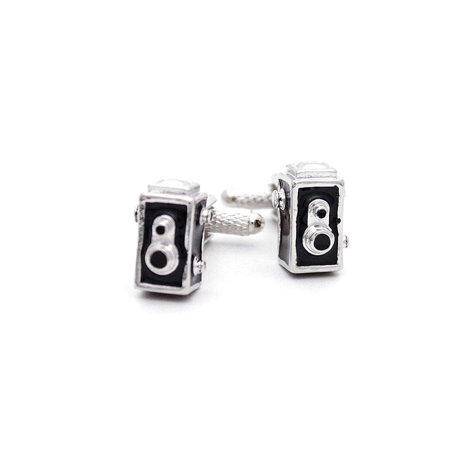 Vintage Retro Box Camera Cufflinks