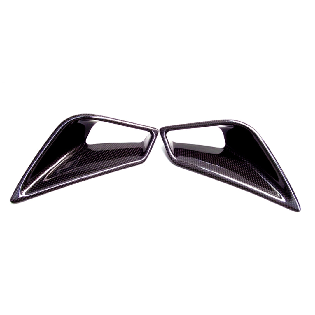 Ducati 848/1098/1198 Carbon Fiber Seat Side Vents