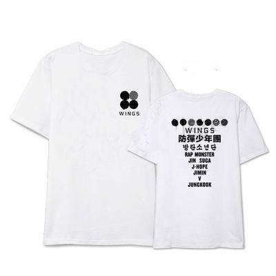 BTS WINGS Tour Concert Album T-Shirt - Triangle