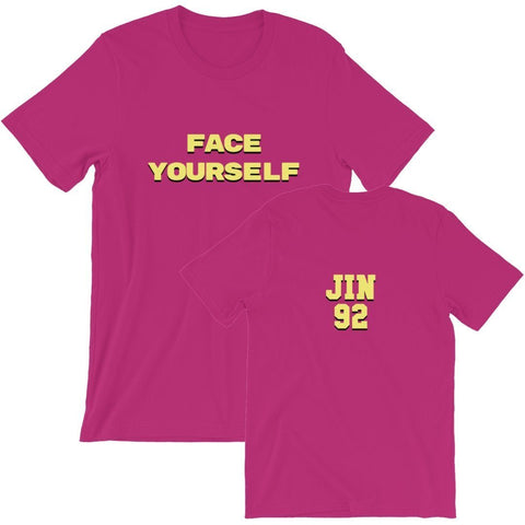 Face Yourself Berry T-Shirt - Jin