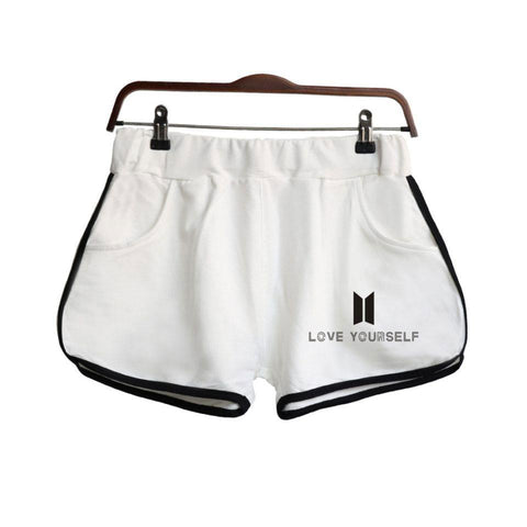 BTS Love Yourself ver.2 Cotton Shorts