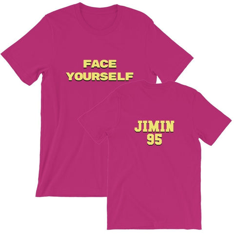 Face Yourself Berry T-Shirt - Jimin