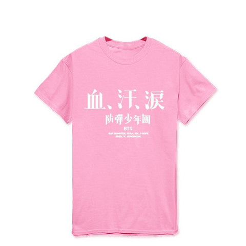 Blood Sweat Tears Japanese Ver T Shirt (4 Colours)