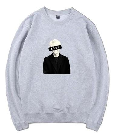Grey Suga Oversized Sweatshirt - Suga