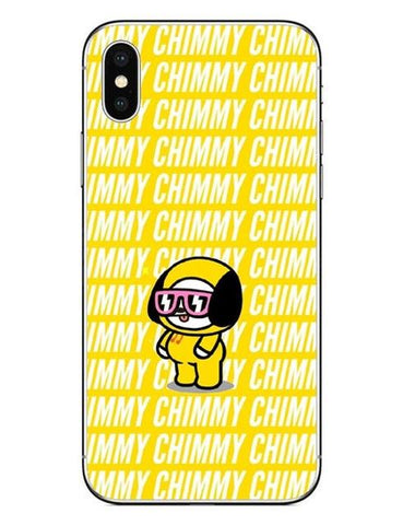 BT21 Chimmy 2 Phone Cases Cover (iPhone 5 5s SE 6 6S Plus 7 7Plus 8 8 Plus X 10) - Jimin