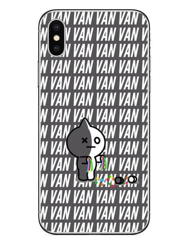 BT21 Van 2 Phone Cases Cover (iPhone 5 5s SE 6 6S Plus 7 7Plus 8 8 Plus X 10)